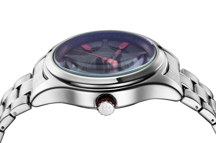 6.11 GD001 Photoelectric Conversion Male Watch Japan Movt Mineral Glass Calendar Display