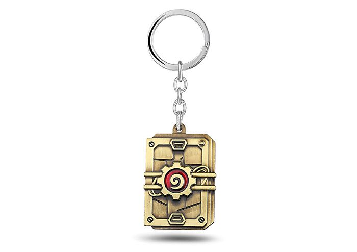 Key chain hanging pendant alloy keyring online video game for Bag decoration games