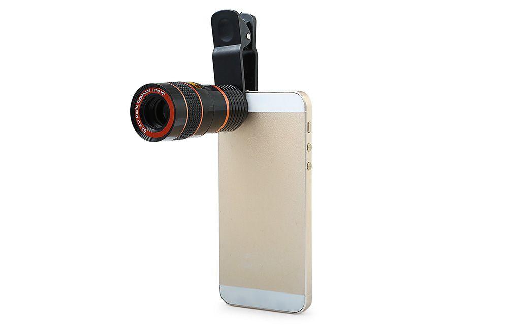 8X Monocular Mini Mobile Phone Accessory