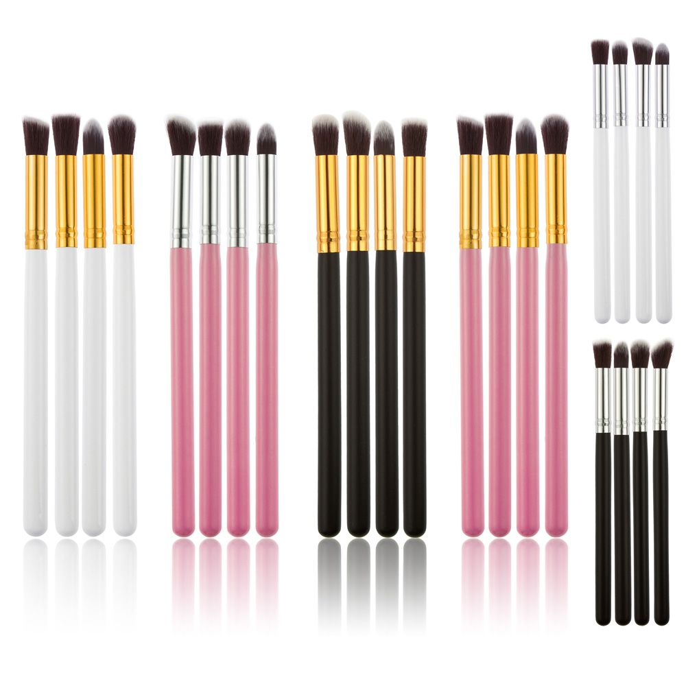 4pcs Makeup Cosmetics Liquid Foundation Blending Brush