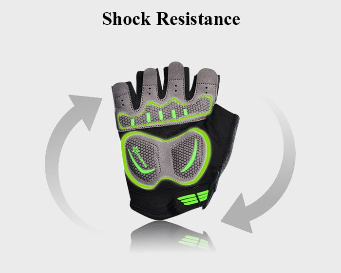 ROCKBROS Summer Unisex Half-finger Cycling Gloves