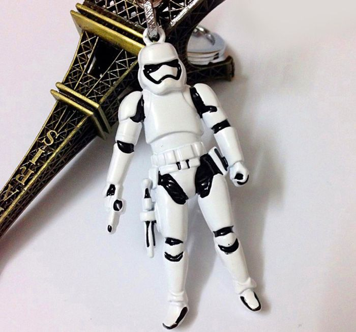 Movie Soldier Figure Key Chain Keyring Kid Toy for Bag Pendant