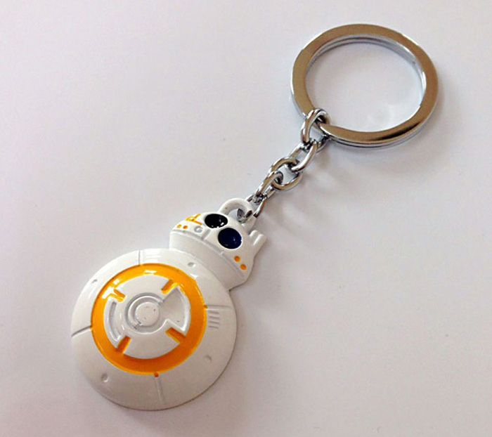 Portable Movie Robot Style Key Chain Hanging Keyring for Bag Pendant