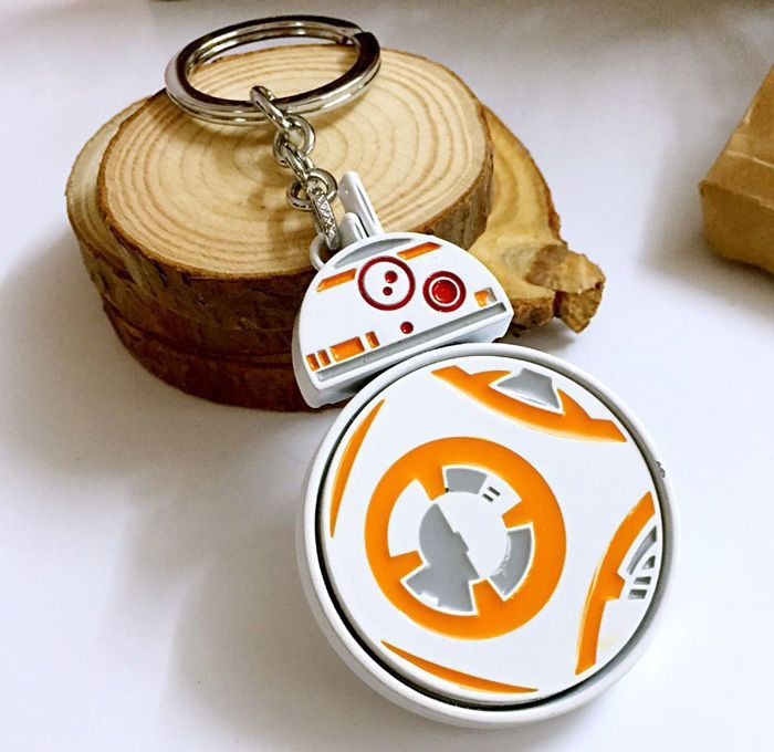 Movie Robot Style Key Chain Hanging Keyring for Bag Pendant
