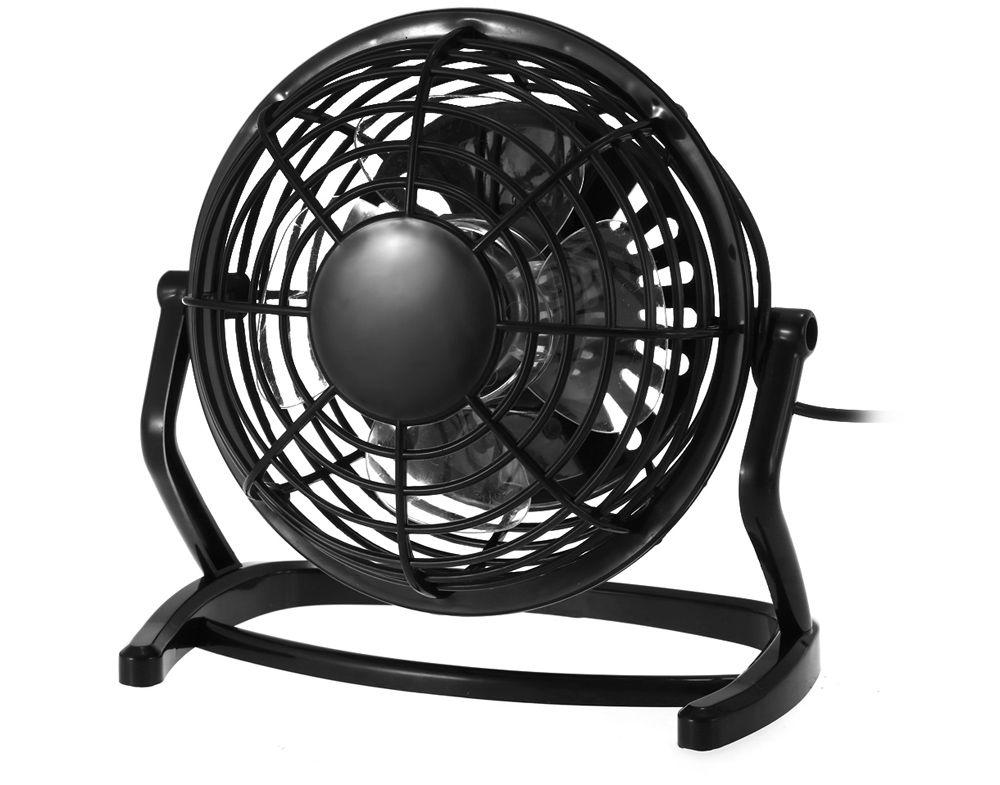 Lione - 816 USB Powered Adjustable 4 inch Mini Desktop Fan for Office