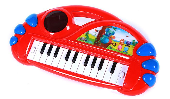 Cartoon Animal Electronic Organ Piano Early Educational Toy for Kid Child