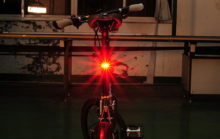LEADBIKE A55 LED Bicycle Night Tail Light for Cycling Safety