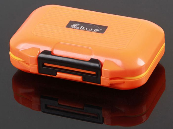 ILURE Rock Fishing Bait Box Water Resistant Small Container