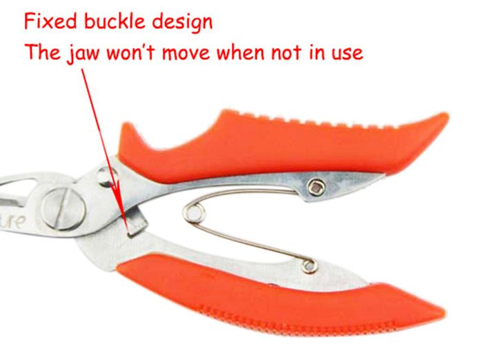 Ilure ATXQ - 13 Stainless Steel Fishing Plier with Multiple Functions