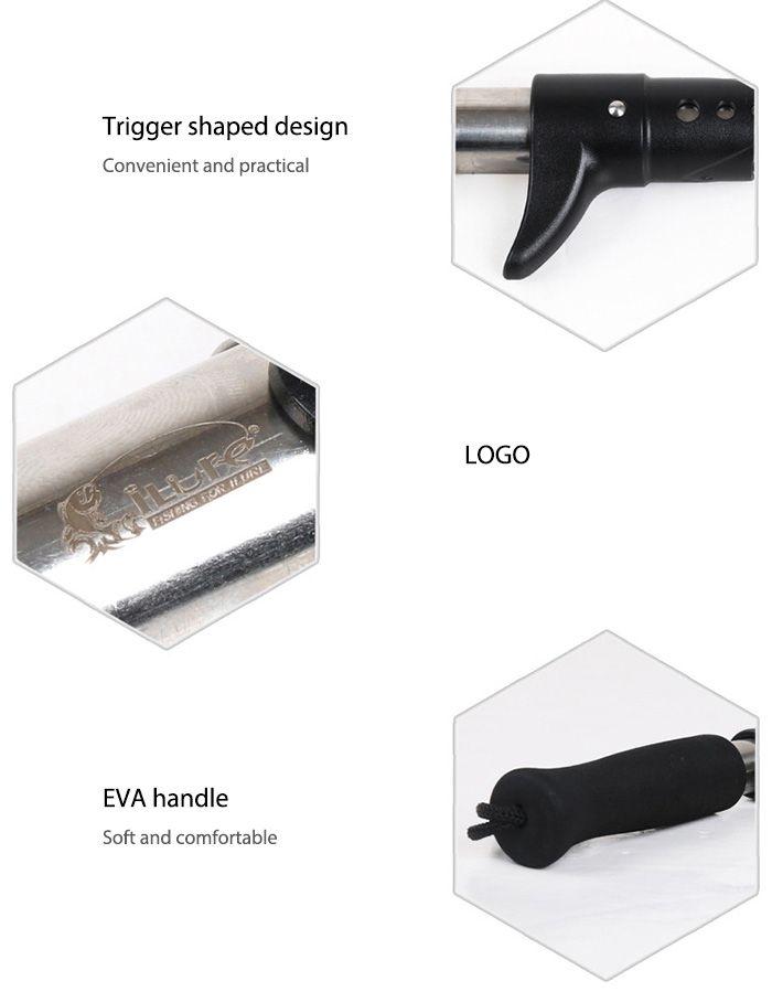 ILURE Portable Fish Lip Gripper Fishing Accessories