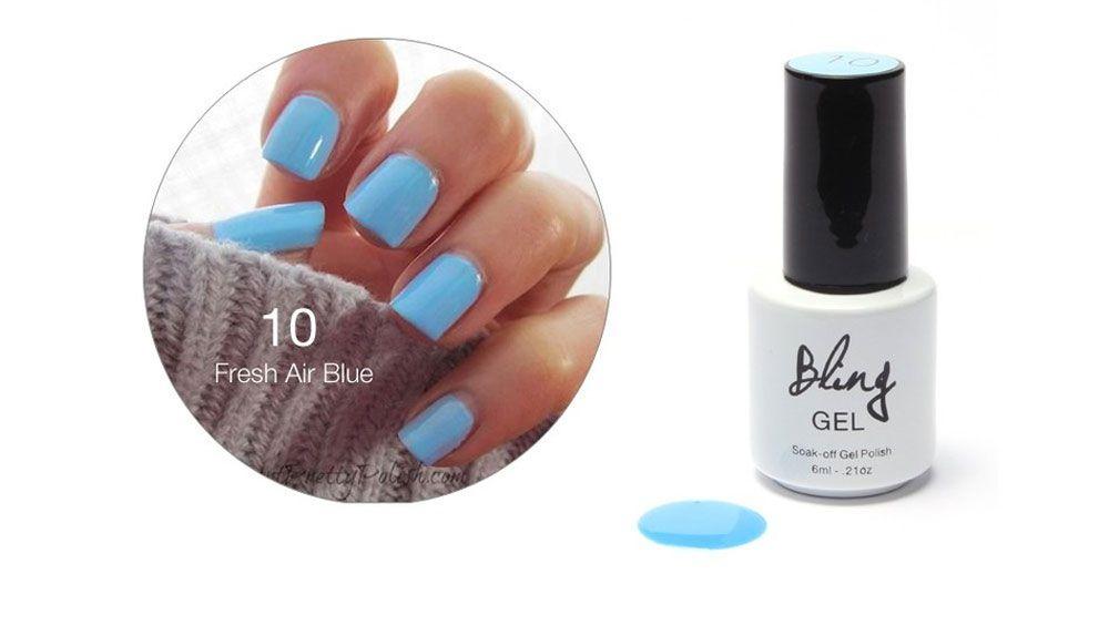 FOCALLURE 15 Colors 6ml Gel Polish Long-lasting Soak-off LED UV Nail Varnish