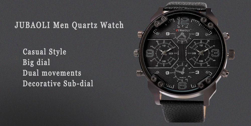 JUBAOLI 1119 Casual Male Quartz Watch with Multiple Sub-dial