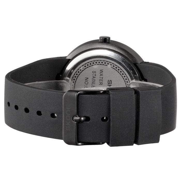 SKONE 1098 Fashion Female Personality Dial Quartz Watch with PU Strap