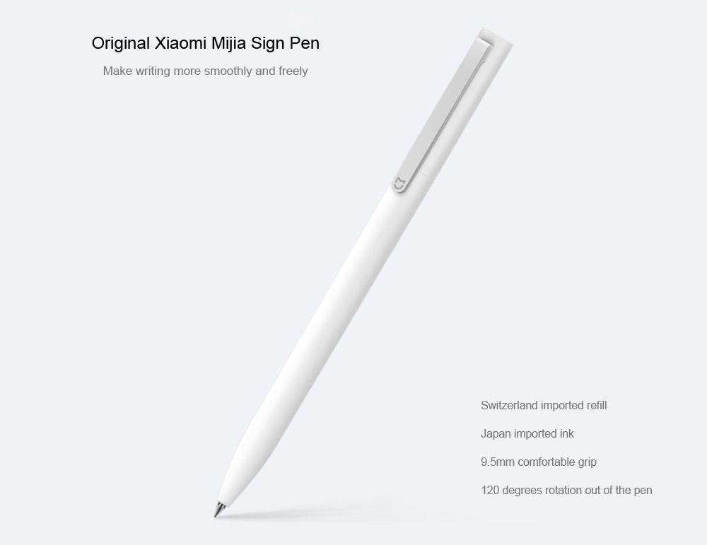 Original Xiaomi Mijia 0.5mm Sign Pen Writing Stationery