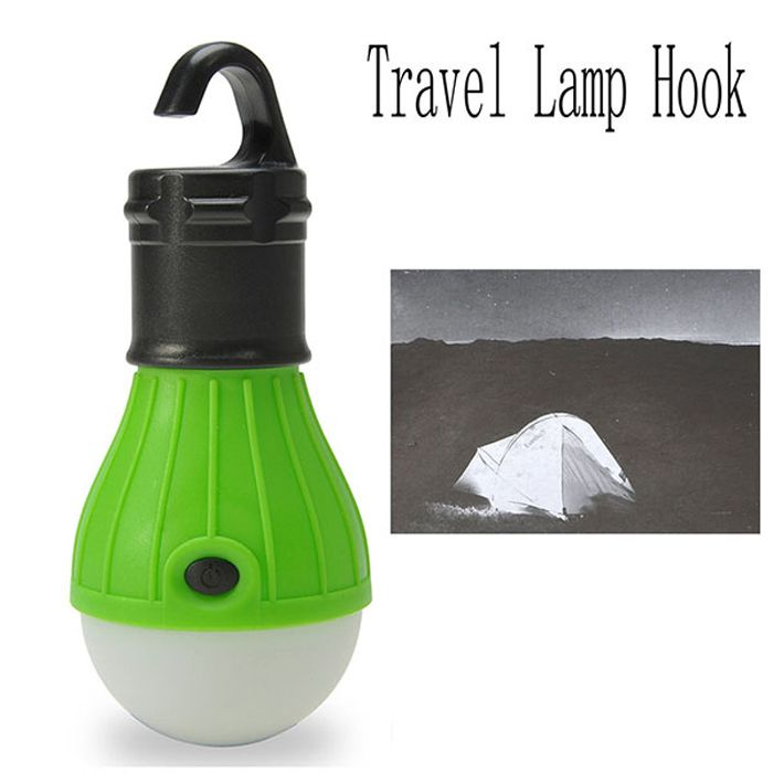 Outdoor 3 Modes 500LM Multifunctional LED Hook Lamp for Hiking