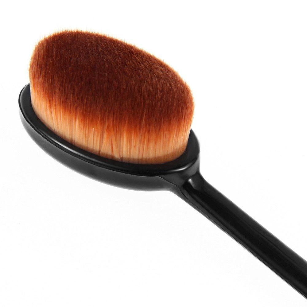 Professional Women Face Powder Foundation Eye Shadow Soft Blusher
