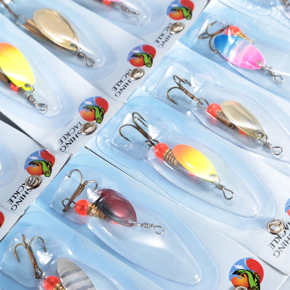 30pcs Fishing Bait Hard Lure with Hook / Sequin