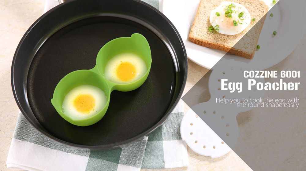 COZZINE 6001 Egg Poacher Oven Safe Cooker