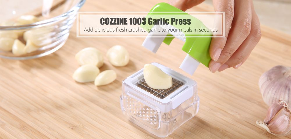 COZZINE 1003 Multifunctional Garlic Mincer Chopper Presser Slicer Kitchen Crusher