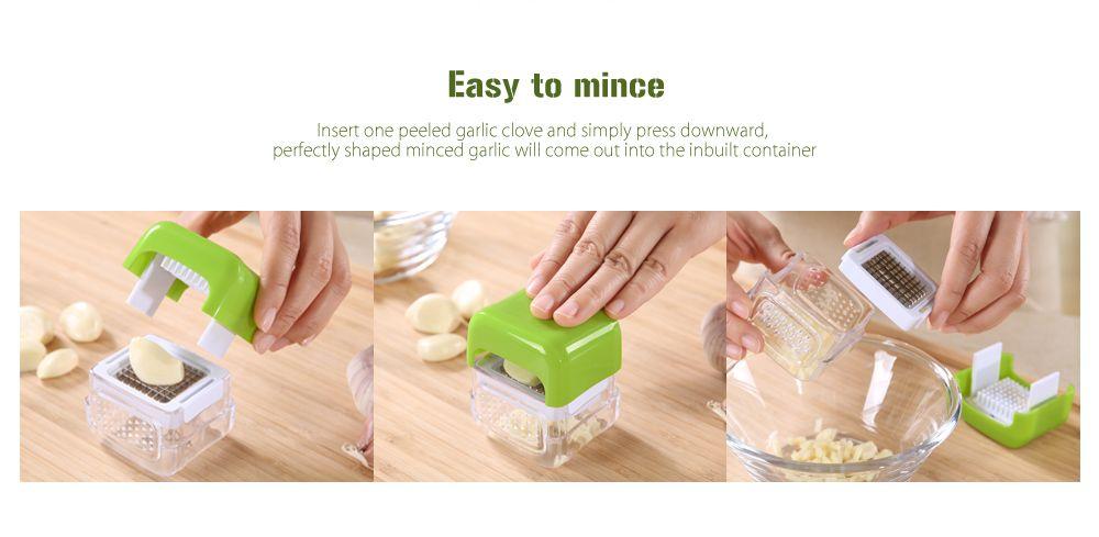 COZZINE 1003 Multifunctional Garlic Mincer Chopper Presser Slicer Kitchen Crusher