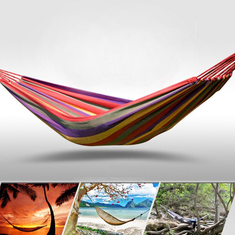 Fengtu Ft0021 Single Outdoor Camping Hammock Outdoor Hammock Men And Women Breathable Canvas Hammock
