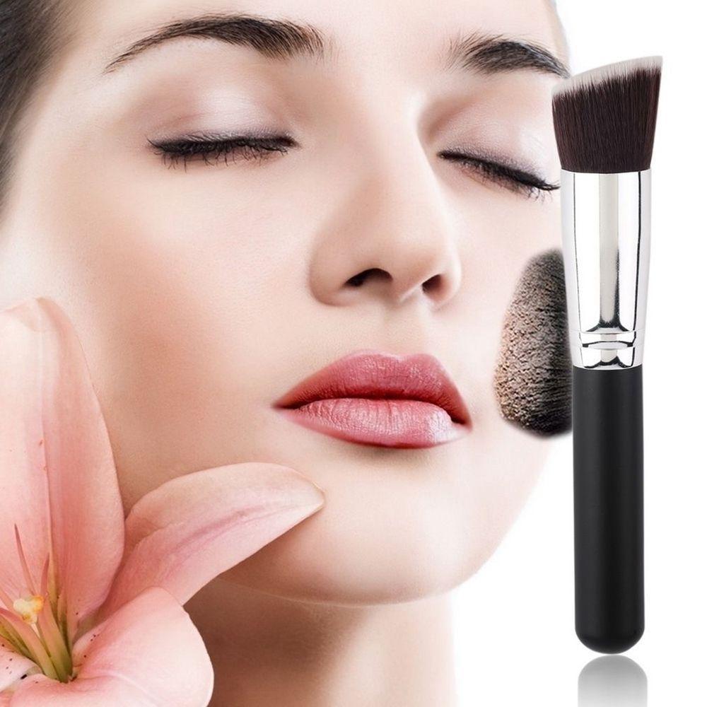Todo 8PCS Pro Face Makeup Brush Set Soft Brush Wood Handle