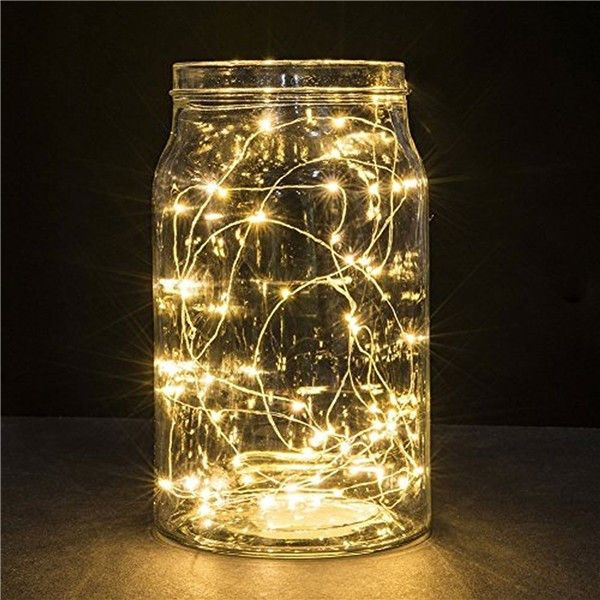Supli 5M 50 LEDs USB Multi Colors Holiday String Lights Lamp Copper Wire Home Lighting