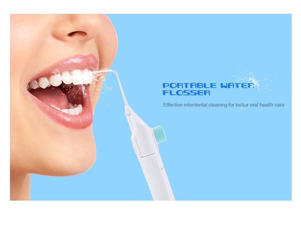 80ml Portable Dental Water Flosser Cordless Teeth Cleaning Tool
