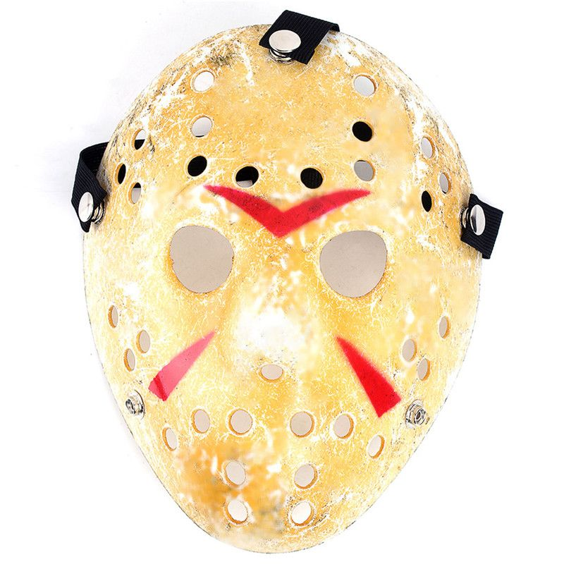 Gold Antique Party Mask Cooking Jason Greddie Hockey Festival Halloween