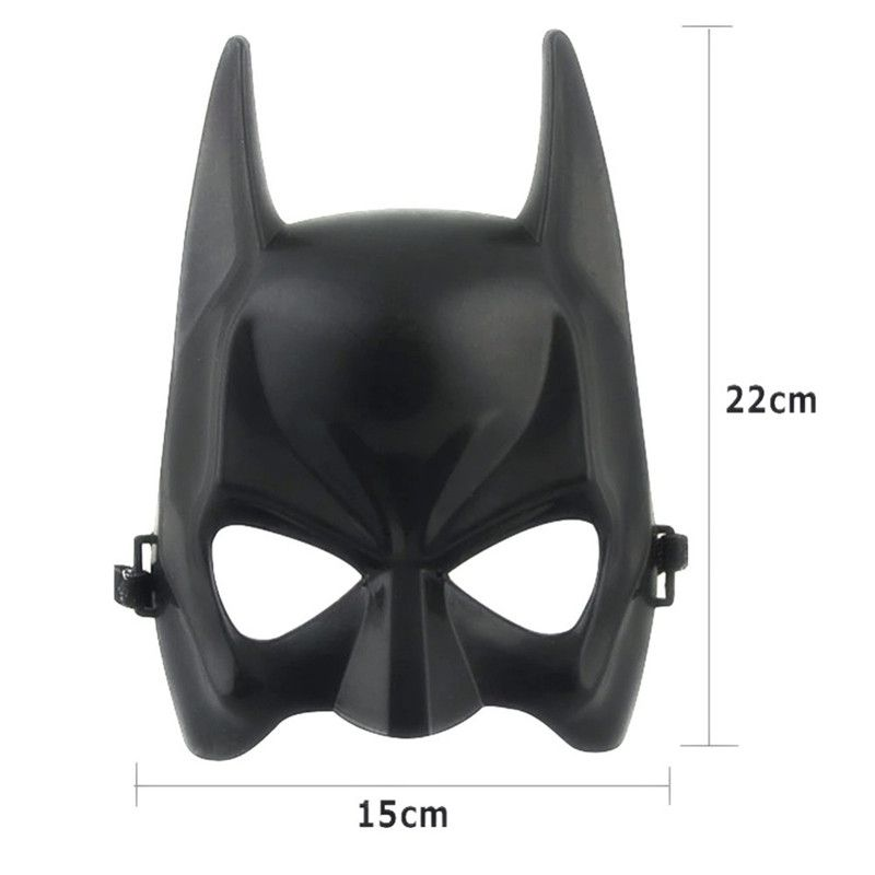 Hot Halloween Batman Adult Black Masquerade Mask Male Cool Half Face Costume Equipment