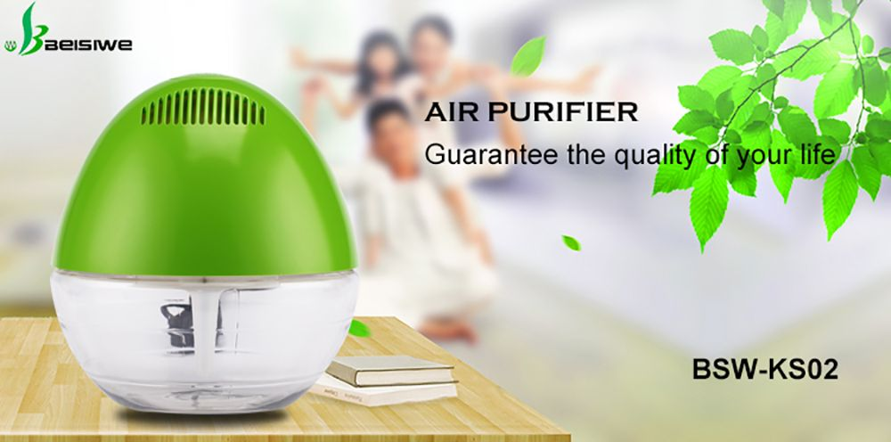 Smart Home Office Use Remove PM2.5 Water Purification Air Purifier