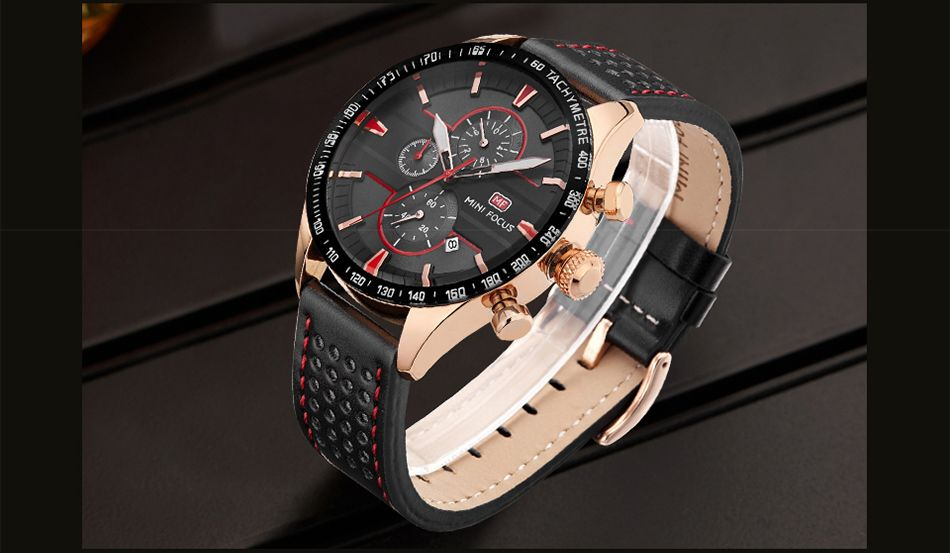 MINI FOCUS Mf0002G-04 4374 Leisure Sports Men Watch