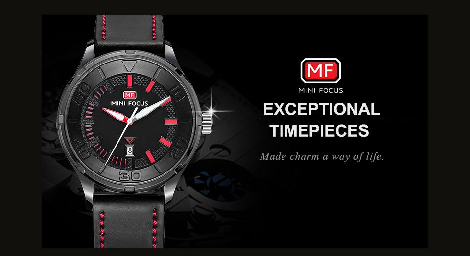 MINI FOCUS Mf0008G 4370 Exclusive Color Design Men Watch