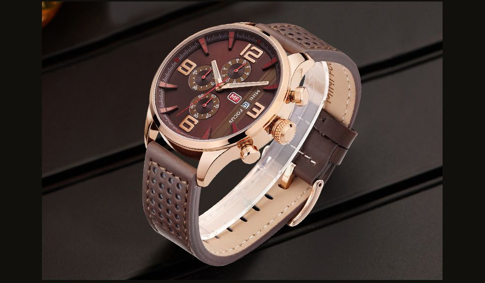 MINI FOCUS Mf0016G 4318 Multifunctional Men Watch