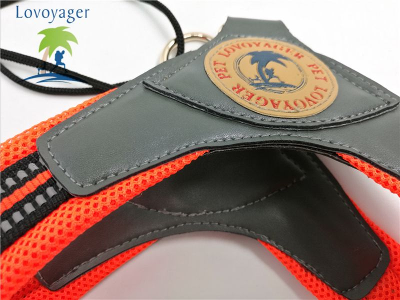 Lovoyager LVH16003 Soft Reflective Pet Dog Harness Dog Walk Collar Leashes Cat Safety Strap Vest