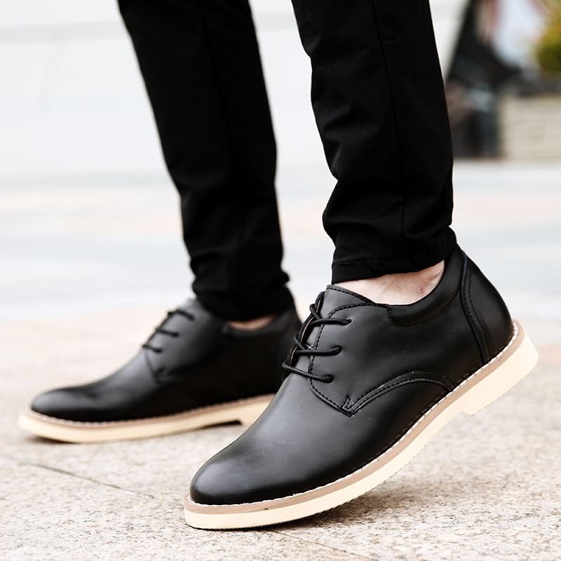 Shoes for Men Business Leather Shoes Men'S Office Shoes Casual Leather Shoes