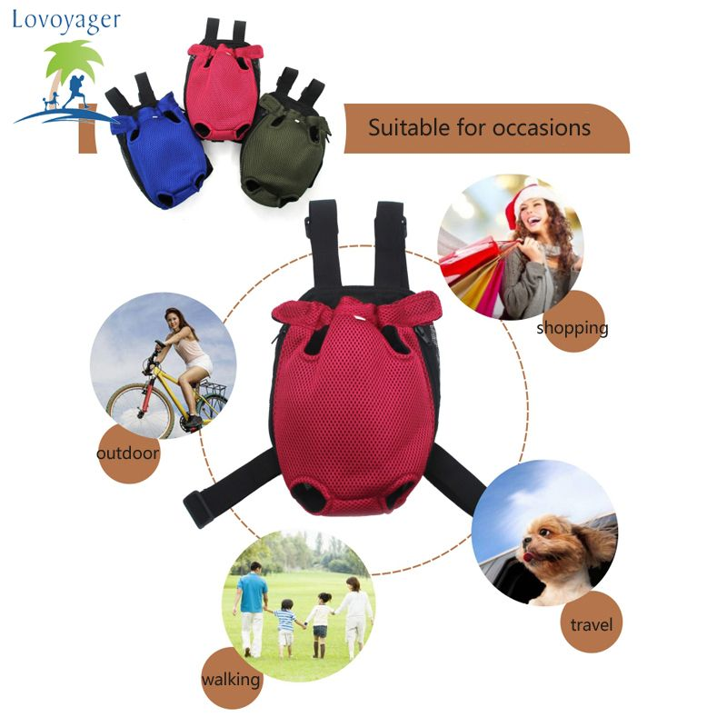 Lovoyager Vb14004 Fashionable Pet Front Chest Dog Travel Carrier Bag