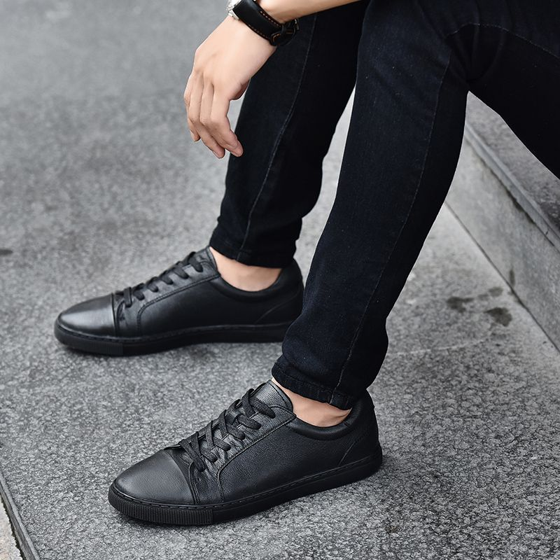 Men's Casual Leather Sports Shoes