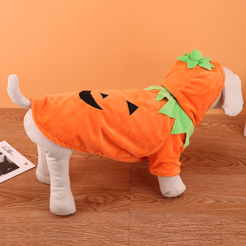 Lovoyager Lvc1701 Halloween Dogs Decorate Cute Pumpkin Dresses