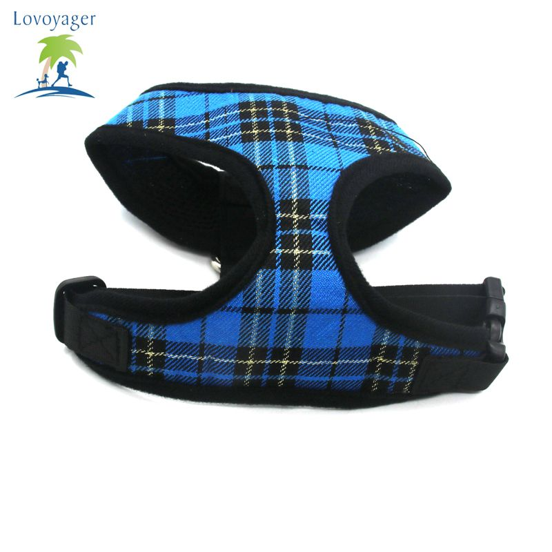 Lovoyager LVC1705 Soft Mesh Breathable Pet Dog Harness Vest and Adjustable Collar