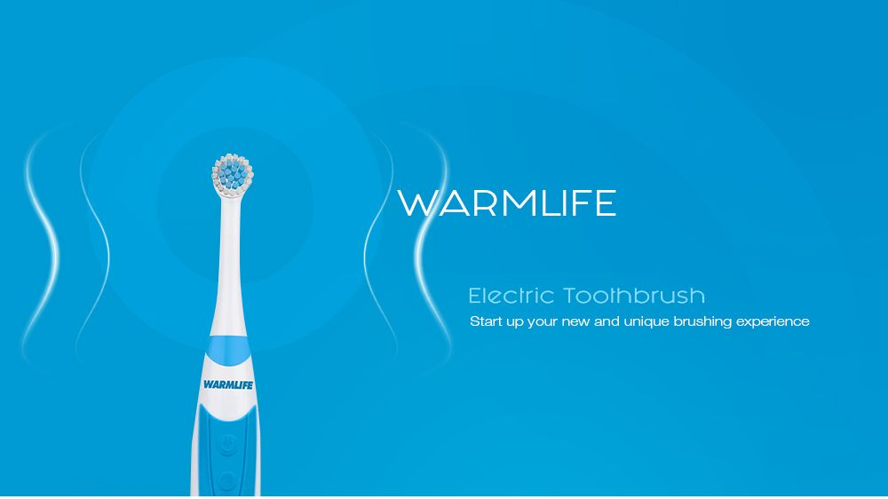 Electric Toothbrush Clean As Dentist Rechargeable Sonic Rotating Brush Head