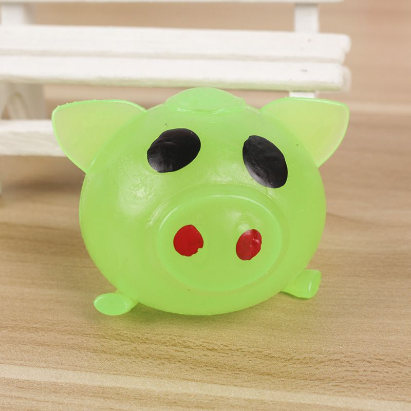 1PCS Creative Vent Toys Spoof Strange Water Eggs Pig Stress Reliever