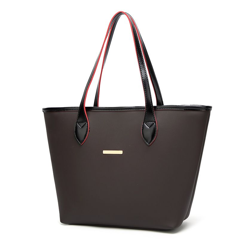 Fashion Simple Tote Bag Casual Handbag with A Large Bag