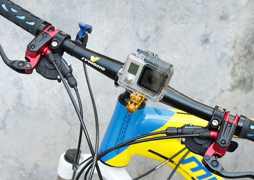 Bicycle Bracket Q Shape 3cm Diameter Bike Suport for Sports Camera