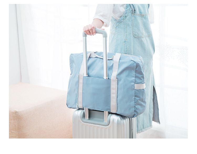 Foldable Travel Bag Luggage Bag Pants Women'S Trolley Bag Portable Light Fitness Kit Short-Distance Travel Bag Male Large Capacity