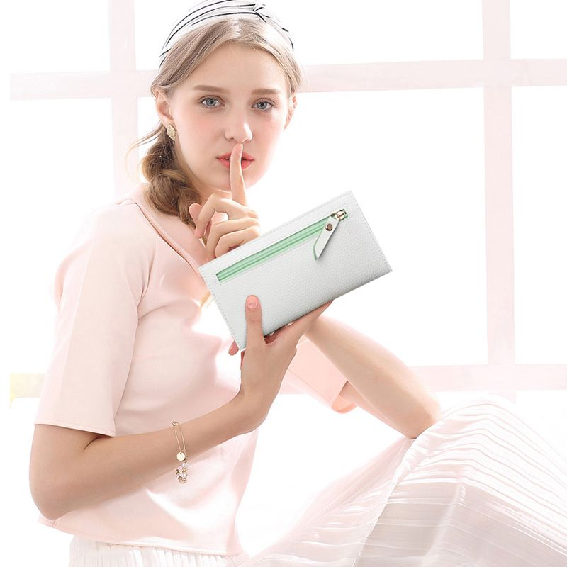 Women'S Purse Female Long Zipper Bag Mini Purse