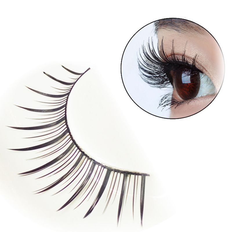 Pair of Black Natural Long Eyelash