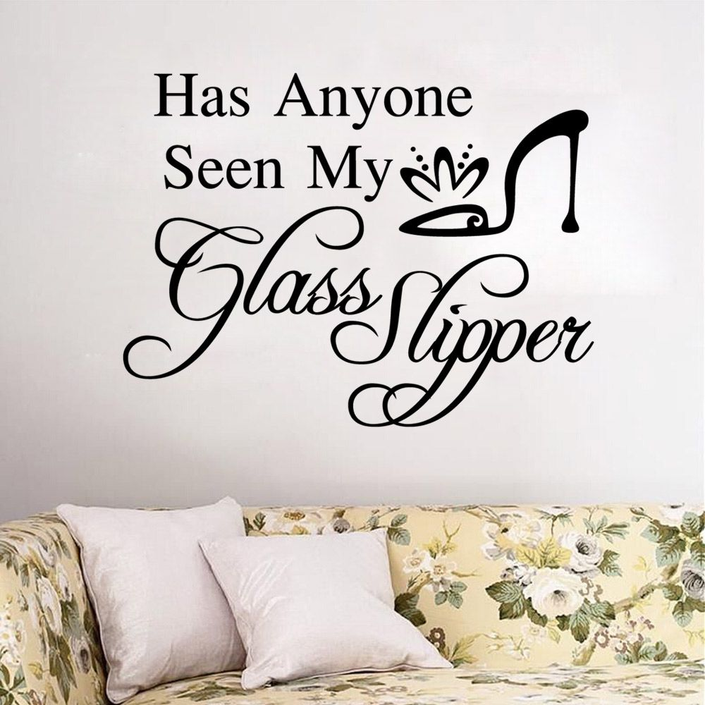 Has Anyone Seen My Glass Slipper