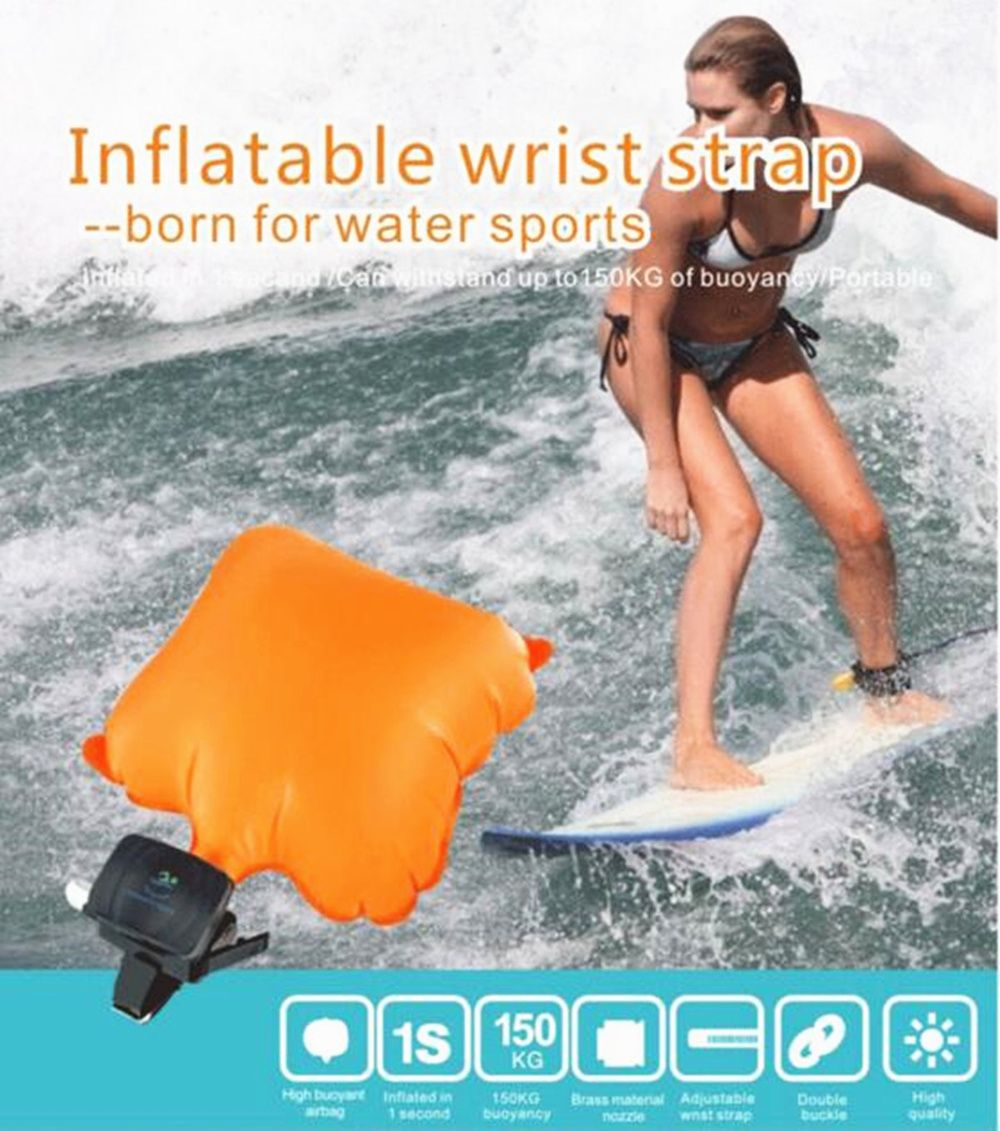 Outdoor Water Drowning Emergency Self Rescue Airbag Bracelet