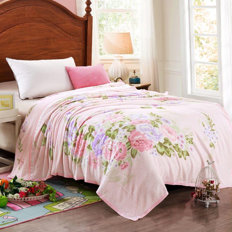 Fashionable Soft Printing Towel Blanket